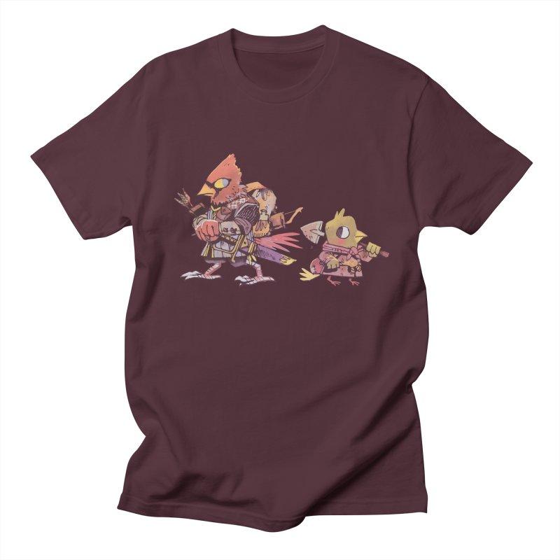 Bird Mercenaries Men's T-Shirt by Kyle Ferrin's Artist Shop