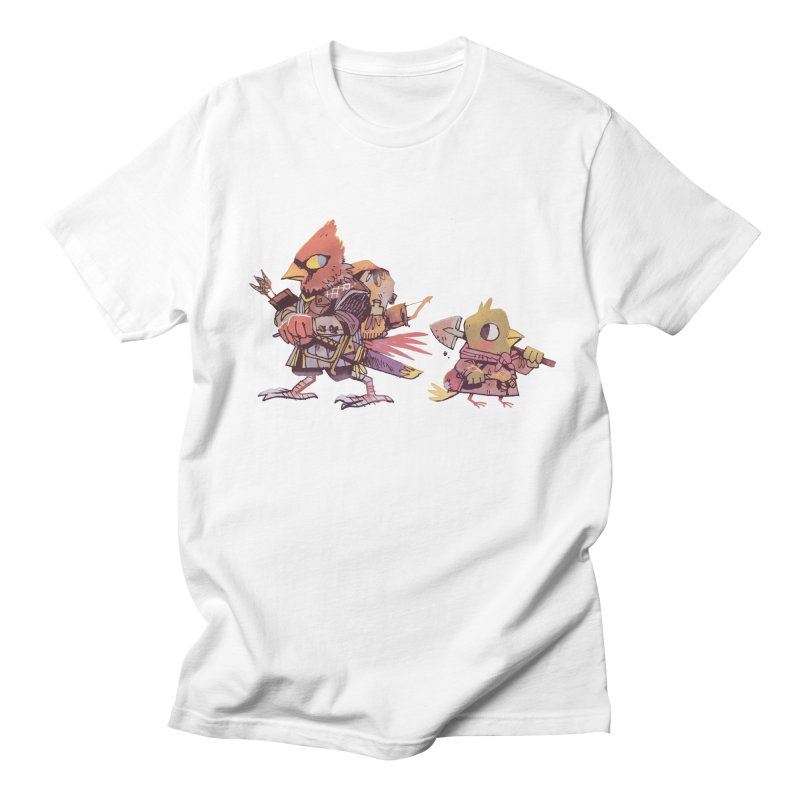 Bird Mercenaries Men's T-shirt by Kyle Ferrin's Artist Shop