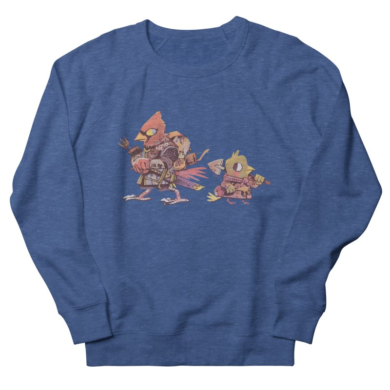 Bird Mercenaries Women's French Terry Sweatshirt by Kyle Ferrin's Artist Shop