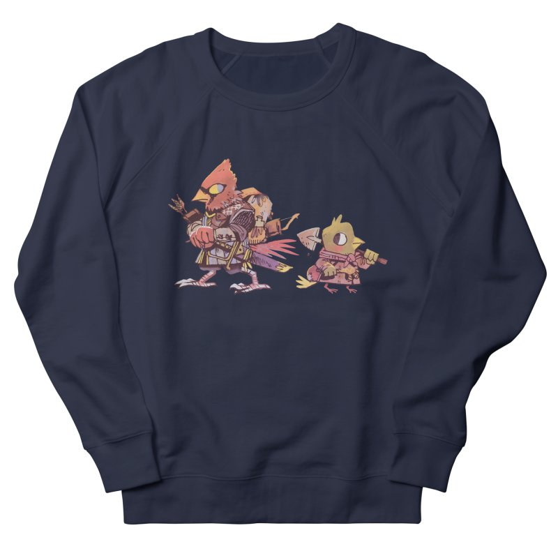 Bird Mercenaries Women's French Terry Sweatshirt by Kyle Ferrin's Artist Shop