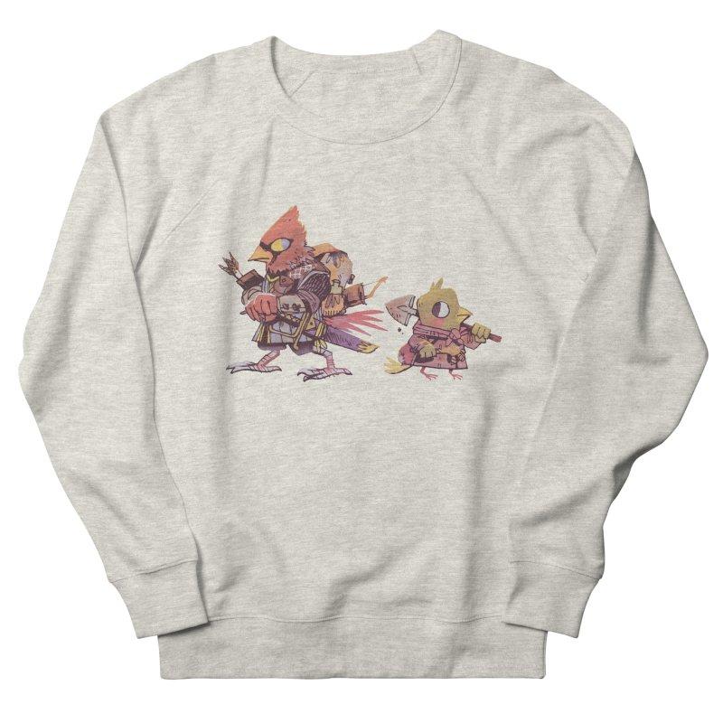 Bird Mercenaries Men's French Terry Sweatshirt by Kyle Ferrin's Artist Shop