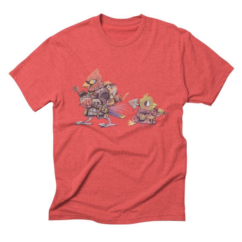 Bird Mercenaries Men's Triblend T-Shirt by Kyle Ferrin's Artist Shop