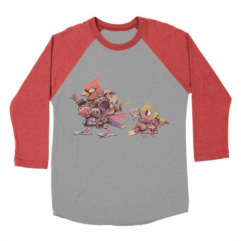 Bird Mercenaries Women's Baseball Triblend Longsleeve T-Shirt by Kyle Ferrin's Artist Shop