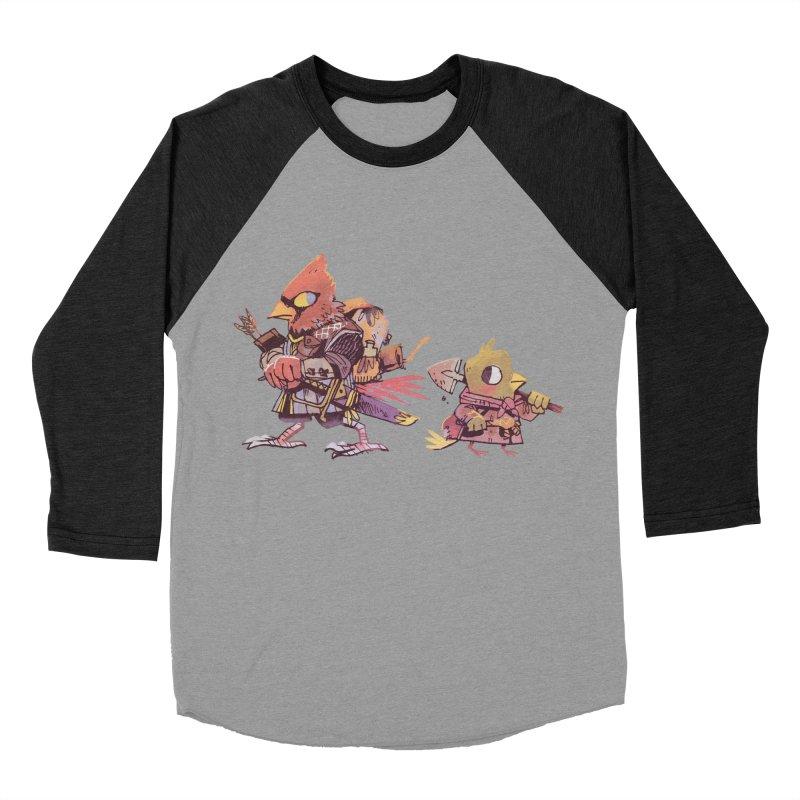Bird Mercenaries Men's Baseball Triblend Longsleeve T-Shirt by Kyle Ferrin's Artist Shop