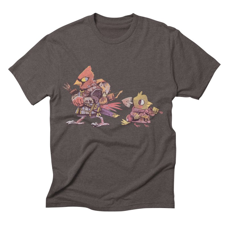 Bird Mercenaries Men's Triblend T-shirt by Kyle Ferrin's Artist Shop