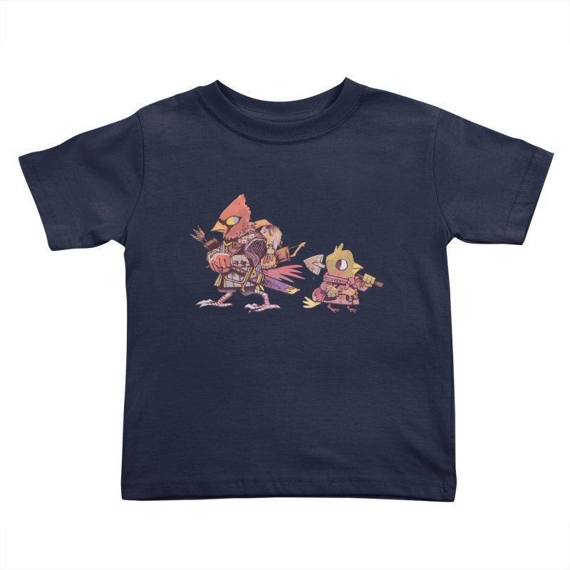 Bird Mercenaries Kids Toddler T-Shirt by Kyle Ferrin's Artist Shop