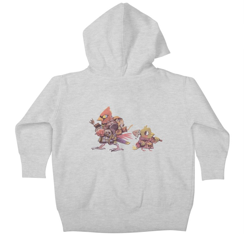 Bird Mercenaries Kids Baby Zip-Up Hoody by Kyle Ferrin's Artist Shop