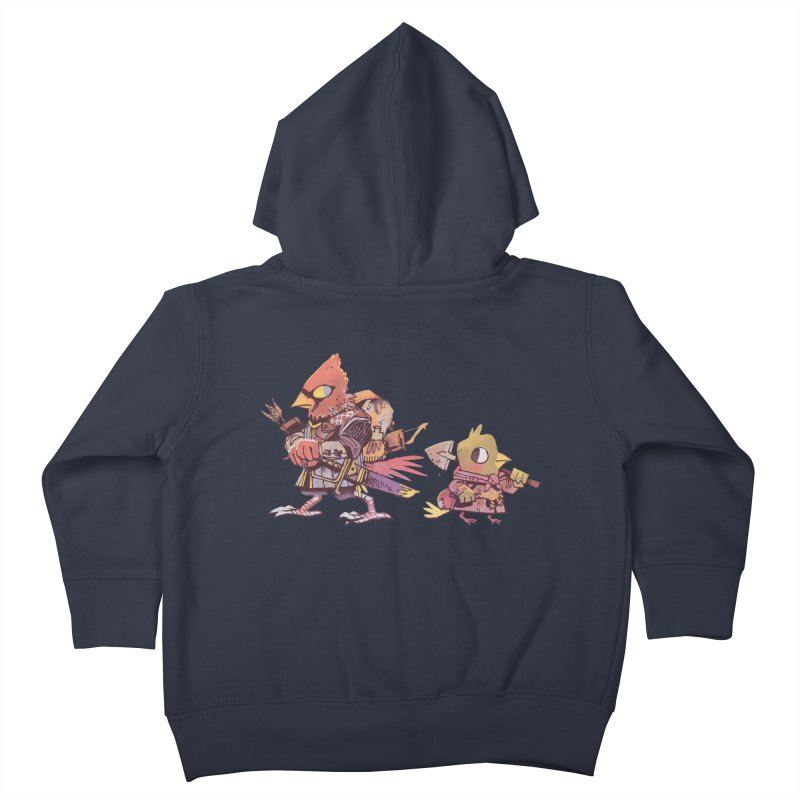 Bird Mercenaries Kids Toddler Zip-Up Hoody by Kyle Ferrin's Artist Shop