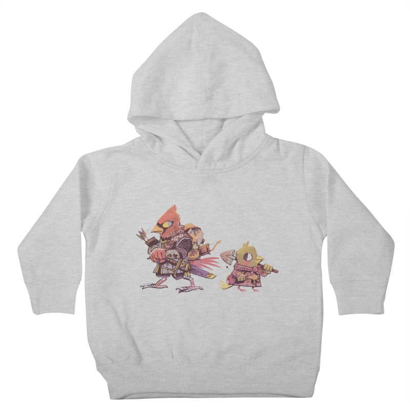 Bird Mercenaries Kids Toddler Pullover Hoody by Kyle Ferrin's Artist Shop