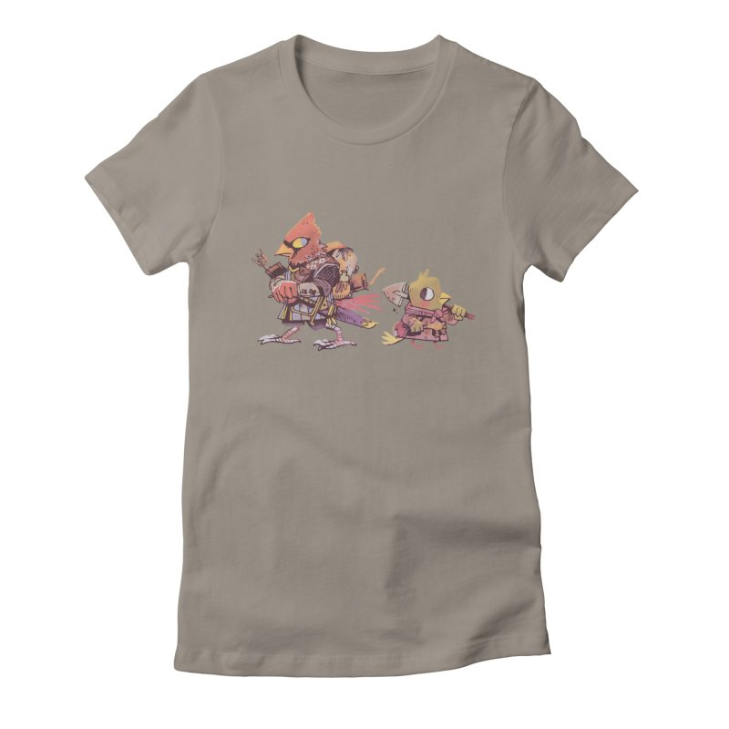 Bird Mercenaries Women's Fitted T-Shirt by Kyle Ferrin's Artist Shop