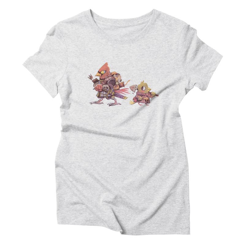 Bird Mercenaries Women's Triblend T-shirt by Kyle Ferrin's Artist Shop