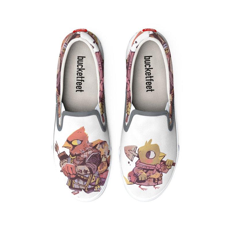 Bird Mercenaries Women's Shoes by Kyle Ferrin's Artist Shop