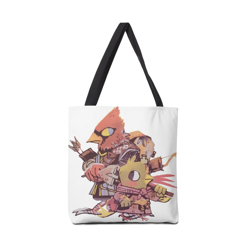Bird Mercenaries Accessories Tote Bag Bag by Kyle Ferrin's Artist Shop