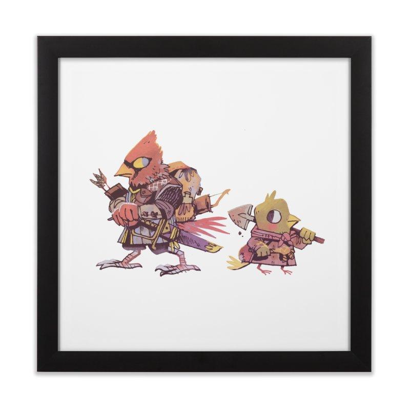 Bird Mercenaries Home Framed Fine Art Print by Kyle Ferrin's Artist Shop
