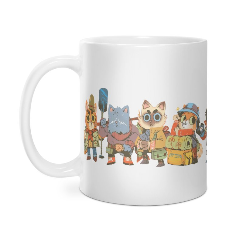 Fishing Felines Accessories Mug by Kyle Ferrin's Artist Shop