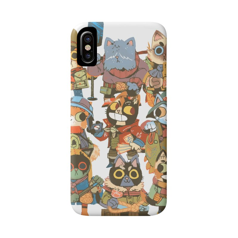 Fishing Felines Accessories Phone Case by Kyle Ferrin's Artist Shop