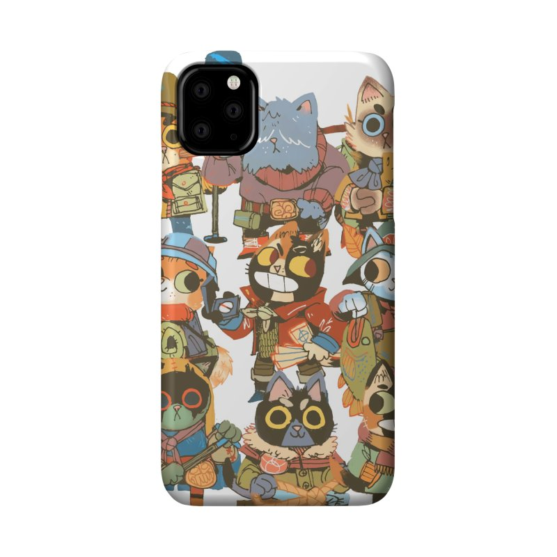 Fishing Felines Accessories Phone Case by Kyle Ferrin's Artist Shop