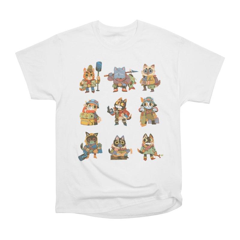 Fishing Felines Women's T-Shirt by Kyle Ferrin's Artist Shop