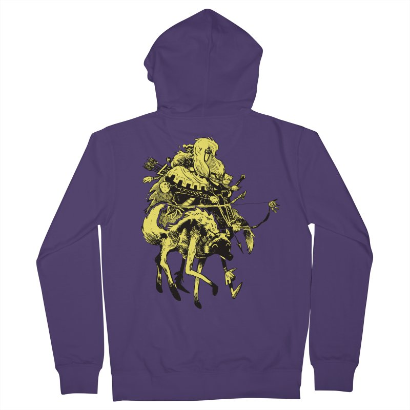 Ranger Women's French Terry Zip-Up Hoody by Kyle Ferrin's Artist Shop