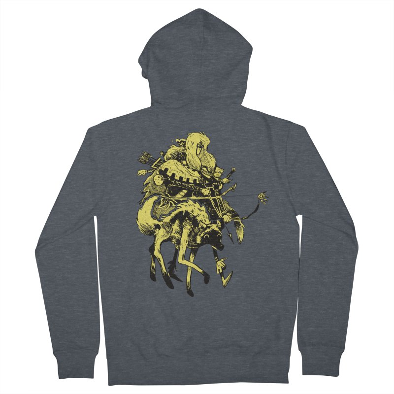 Ranger Men's French Terry Zip-Up Hoody by Kyle Ferrin's Artist Shop