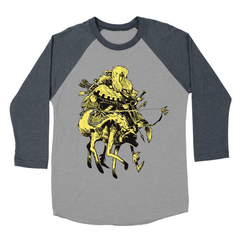 Ranger Women's Baseball Triblend Longsleeve T-Shirt by Kyle Ferrin's Artist Shop