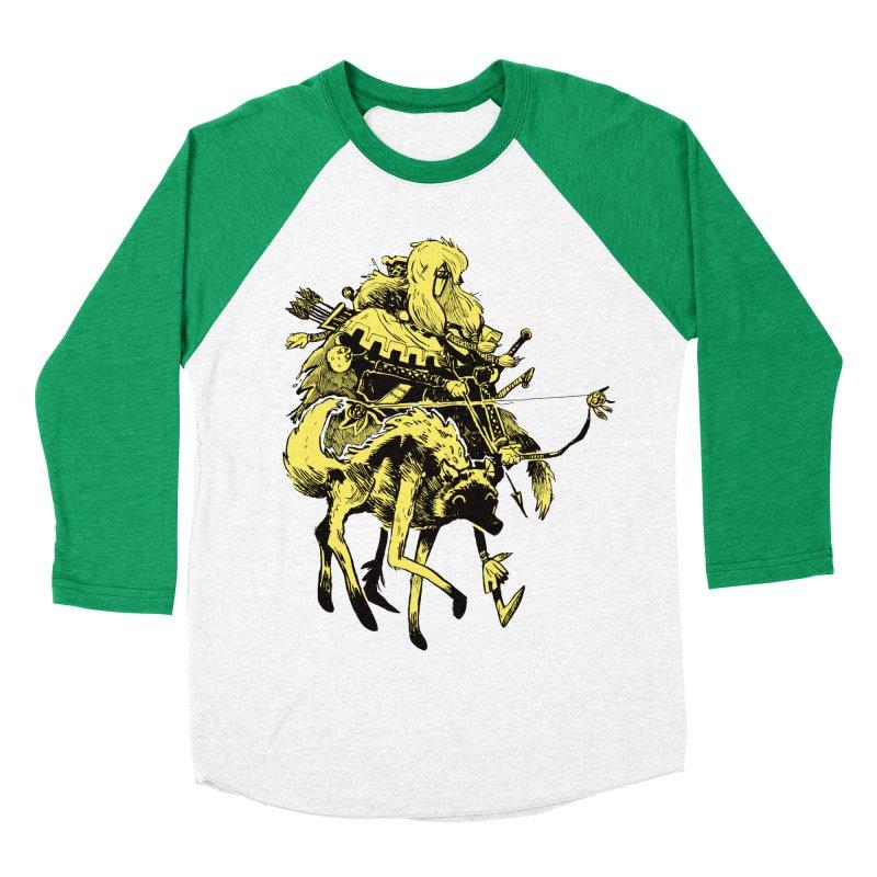 Ranger Men's Baseball Triblend Longsleeve T-Shirt by Kyle Ferrin's Artist Shop