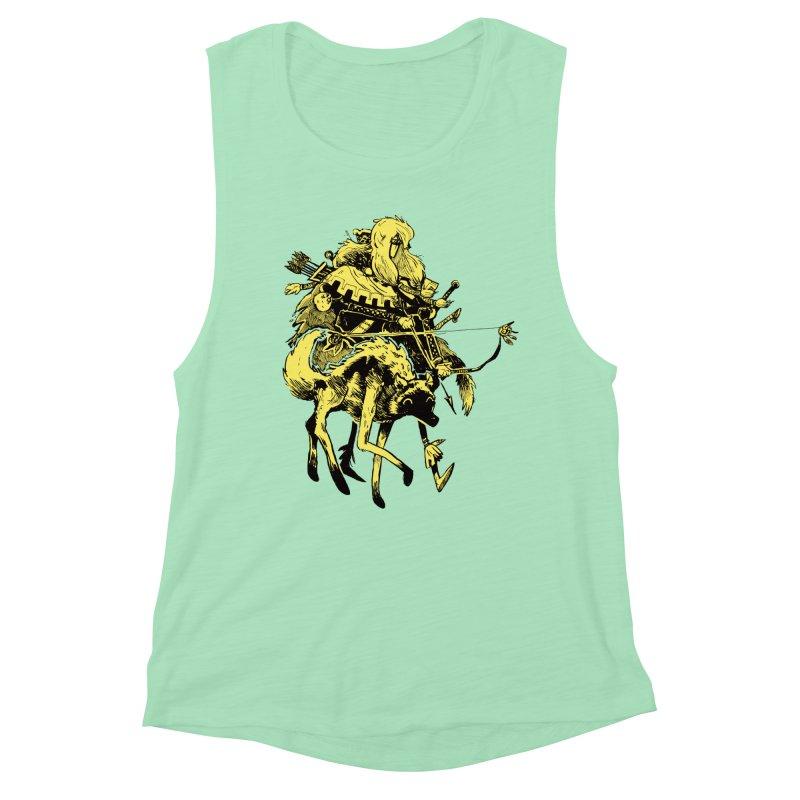 Ranger Women's Muscle Tank by Kyle Ferrin's Artist Shop