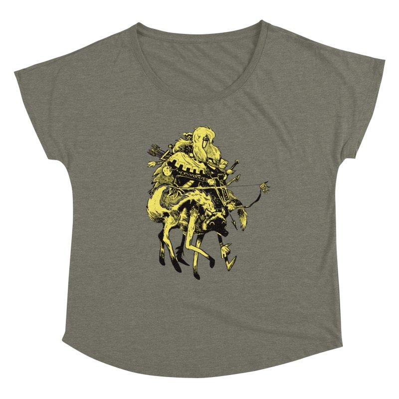 Ranger Women's Dolman Scoop Neck by Kyle Ferrin's Artist Shop
