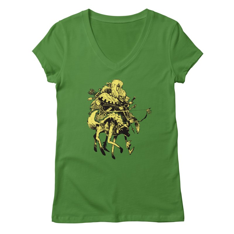 Ranger Women's Regular V-Neck by Kyle Ferrin's Artist Shop