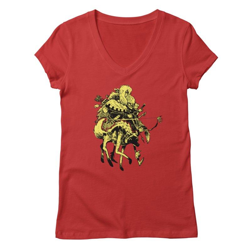 Ranger Women's V-Neck by Kyle Ferrin's Artist Shop