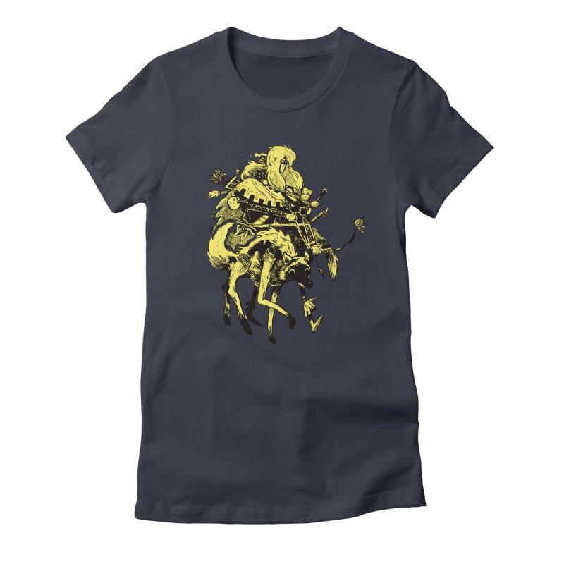 Ranger Women's Fitted T-Shirt by Kyle Ferrin's Artist Shop