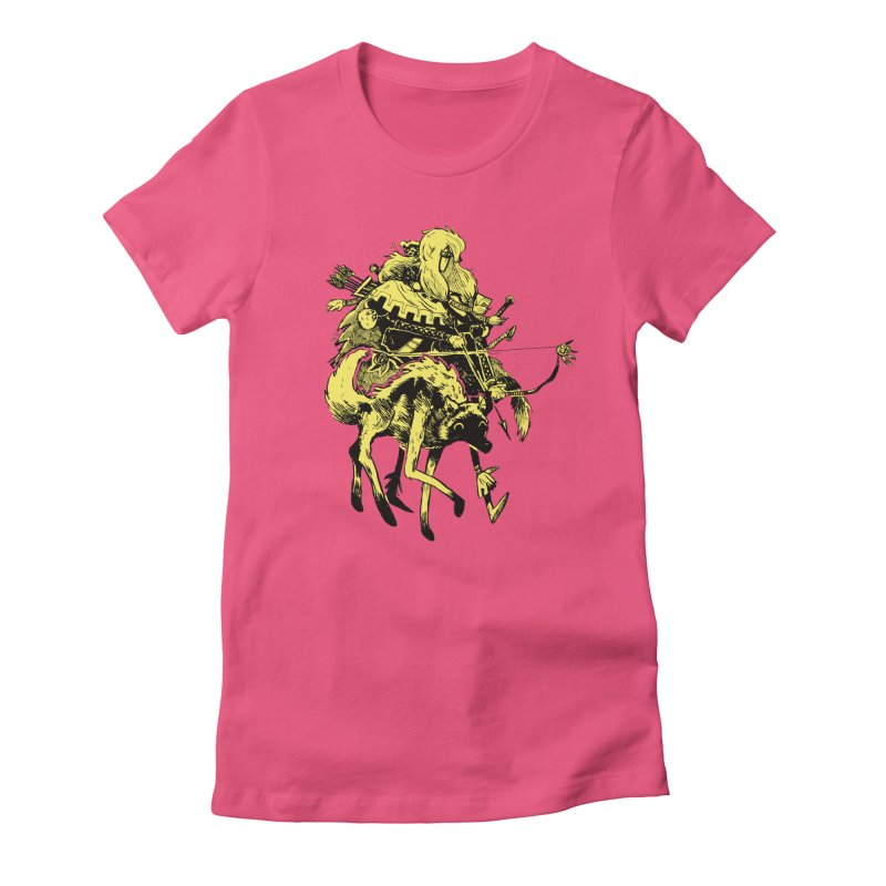 Ranger Women's Fitted T-Shirt by Kyle Ferrin's Artist Shop