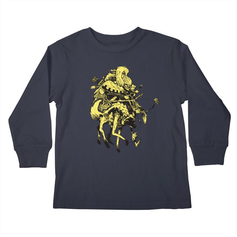 Ranger Kids Longsleeve T-Shirt by Kyle Ferrin's Artist Shop
