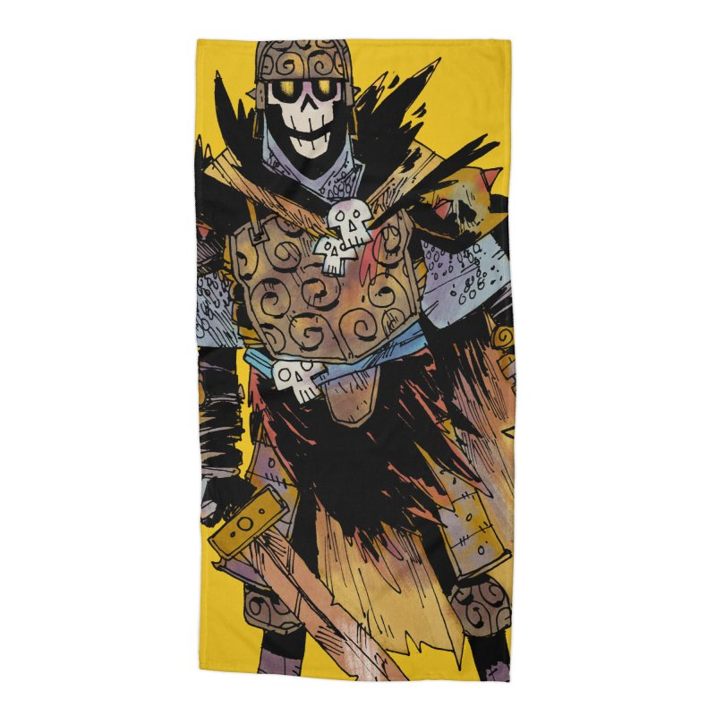 Anti-Paladin Accessories Beach Towel by Kyle Ferrin's Artist Shop