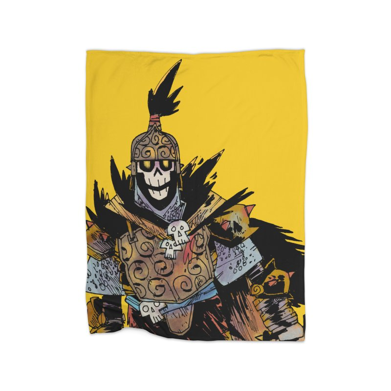 Anti-Paladin Home Fleece Blanket Blanket by Kyle Ferrin's Artist Shop