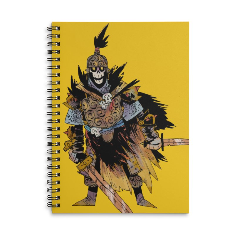 Anti-Paladin Accessories Lined Spiral Notebook by Kyle Ferrin's Artist Shop