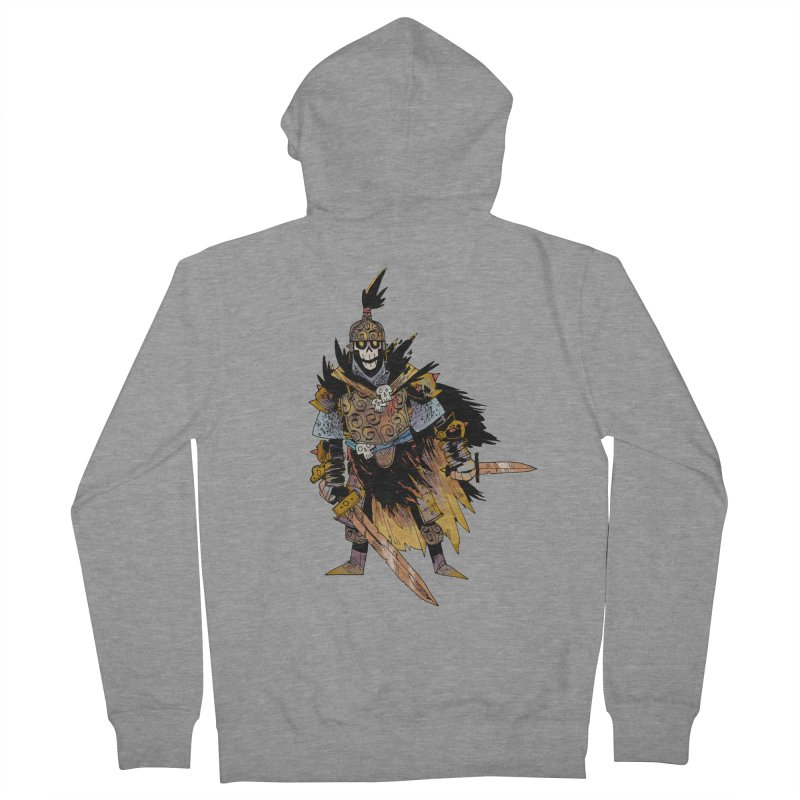 Anti-Paladin Men's French Terry Zip-Up Hoody by Kyle Ferrin's Artist Shop