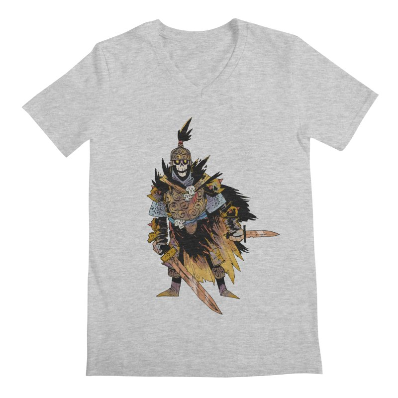 Anti-Paladin Men's Regular V-Neck by Kyle Ferrin's Artist Shop