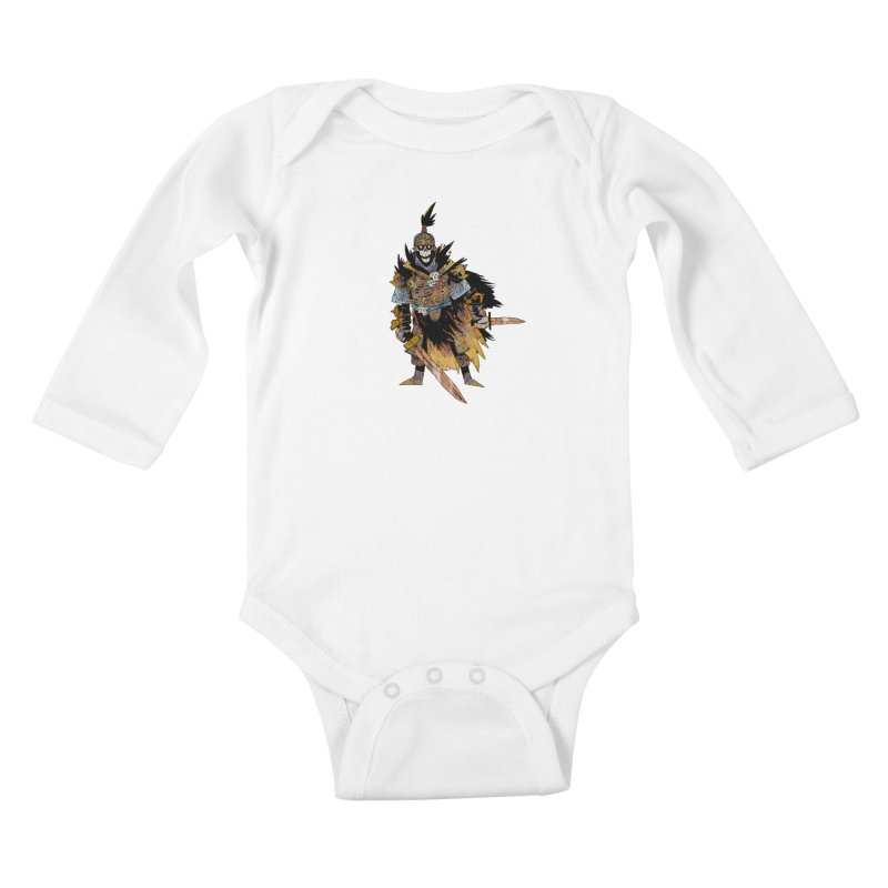 Anti-Paladin Kids Baby Longsleeve Bodysuit by Kyle Ferrin's Artist Shop