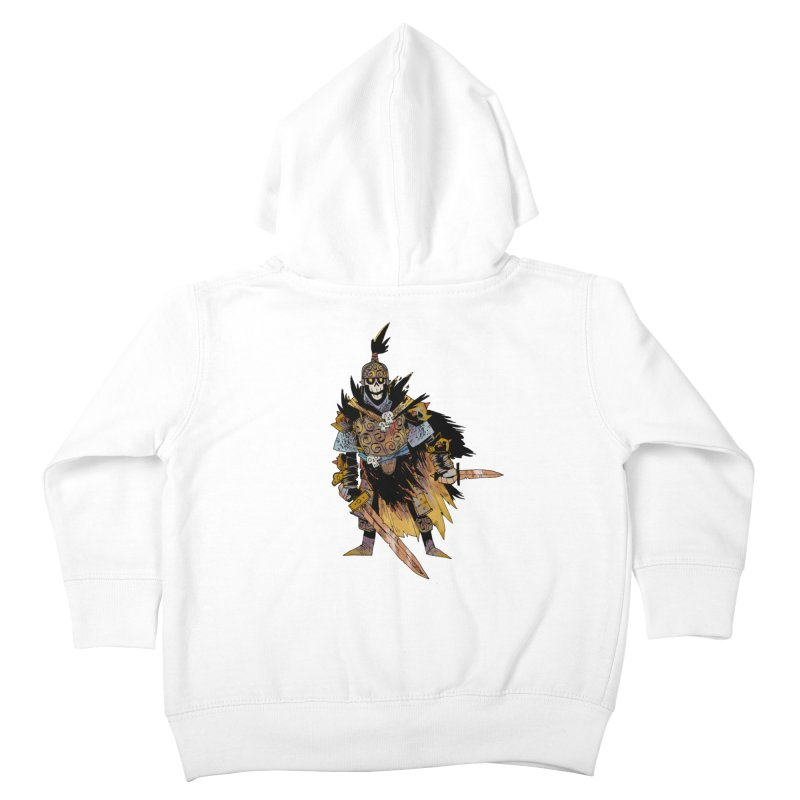 Anti-Paladin Kids Toddler Zip-Up Hoody by Kyle Ferrin's Artist Shop