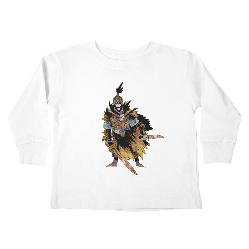 Anti-Paladin Kids Toddler Longsleeve T-Shirt by Kyle Ferrin's Artist Shop