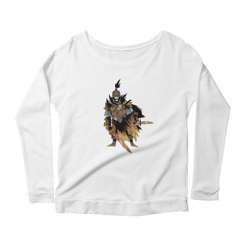 Anti-Paladin Women's Scoop Neck Longsleeve T-Shirt by Kyle Ferrin's Artist Shop