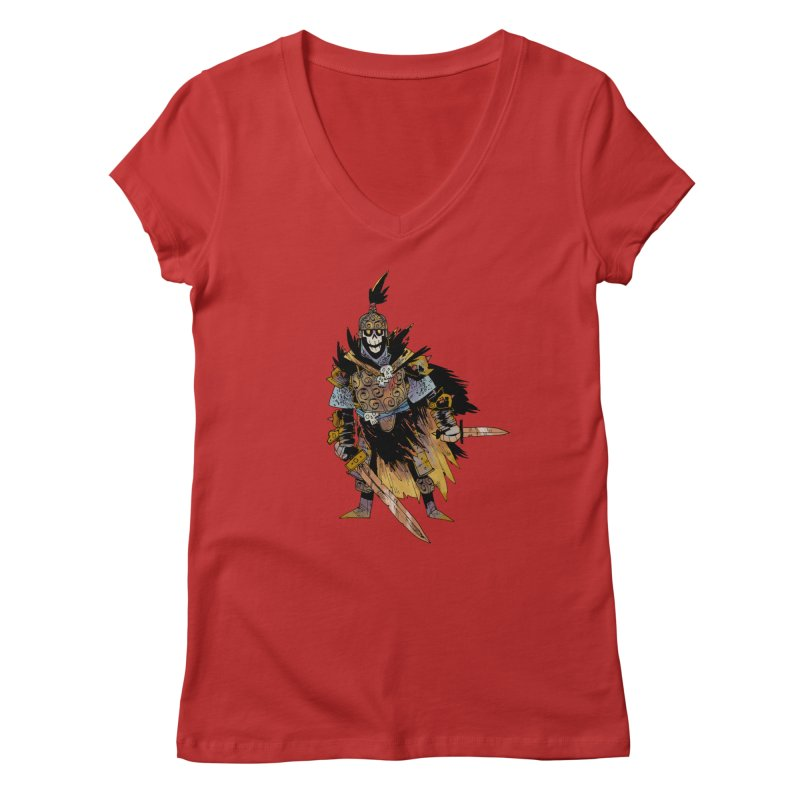 Anti-Paladin Women's Regular V-Neck by Kyle Ferrin's Artist Shop