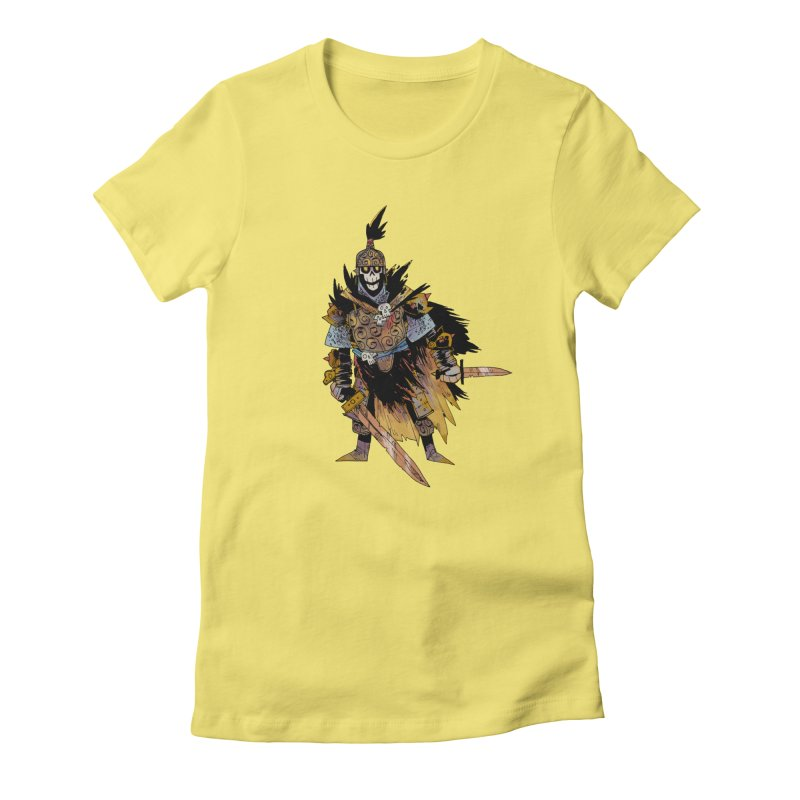 Anti-Paladin Women's Fitted T-Shirt by Kyle Ferrin's Artist Shop