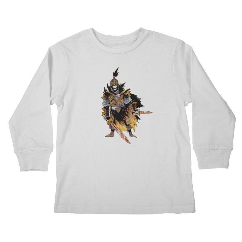 Anti-Paladin Kids Longsleeve T-Shirt by Kyle Ferrin's Artist Shop