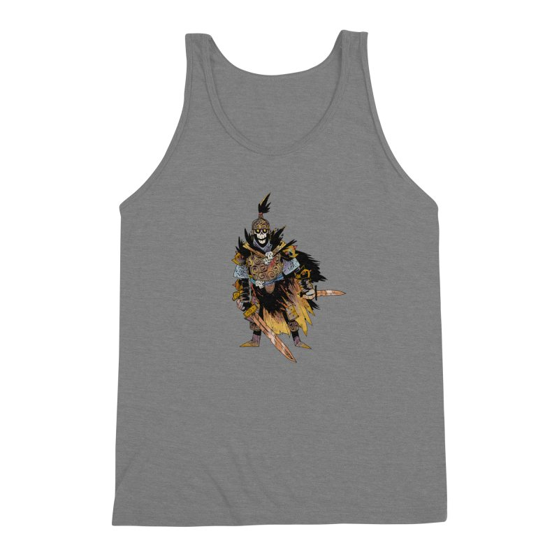 Anti-Paladin Men's Triblend Tank by Kyle Ferrin's Artist Shop