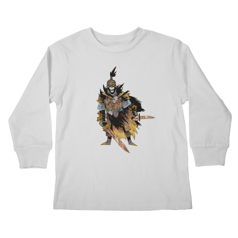 Anti-Paladin Kids Longsleeve T-Shirt by Kyle Ferrin's Artist Shop