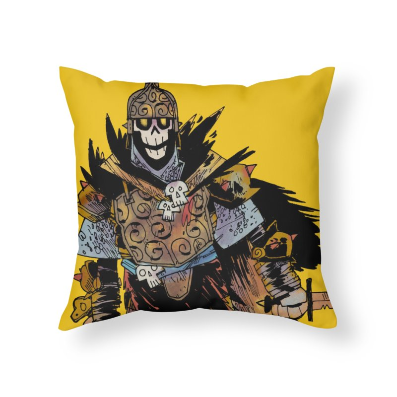 Anti-Paladin Home Throw Pillow by Kyle Ferrin's Artist Shop