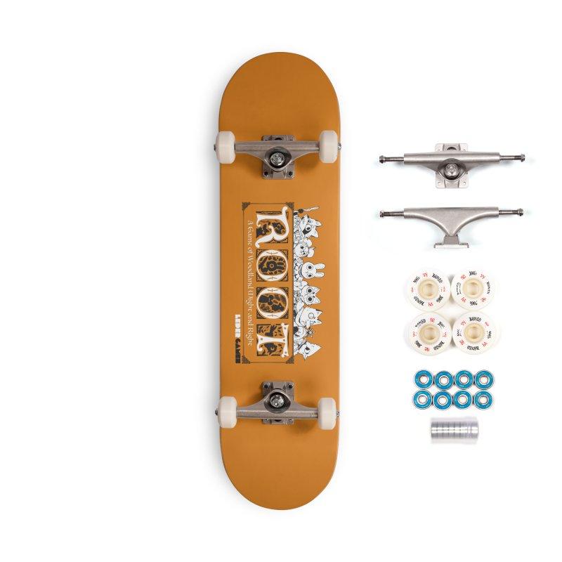Root Logo Accessories Complete - Premium Skateboard by Kyle Ferrin's Artist Shop