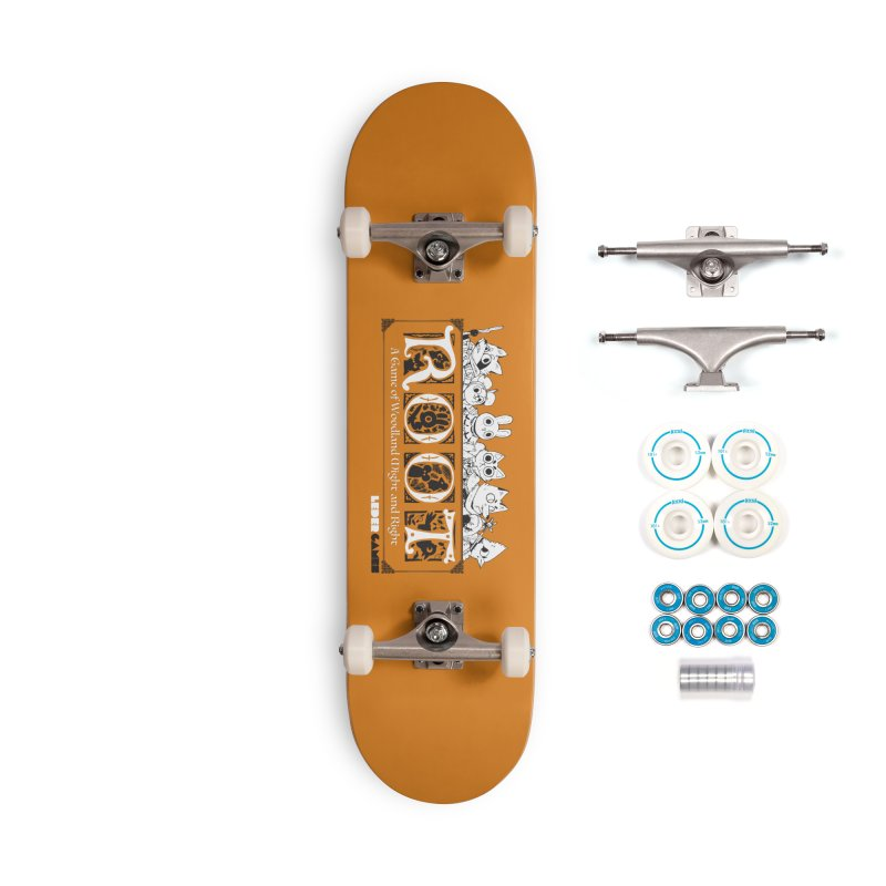 Root Logo Accessories Complete - Basic Skateboard by Kyle Ferrin's Artist Shop